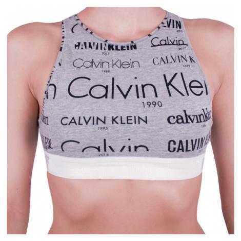 Dámská podprsenka Calvin Klein šedá (GF4056E-HLB)