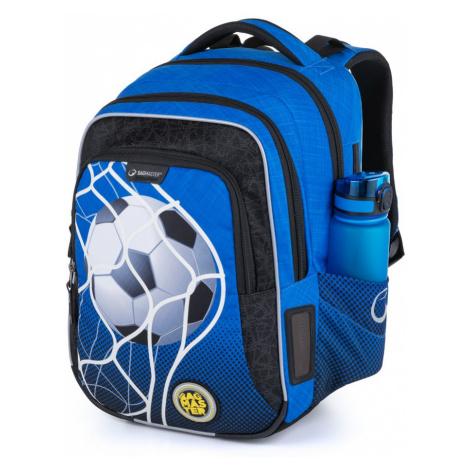 Bagmaster školní batoh pro prvňáčky fotbal LUMI 21 B