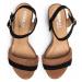 Sandály EKSBUT - 3B-5908-506/136 Rudo/Czarny