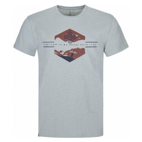 Pánské bavlněné tričko KILPI FERNE-M světle modrá