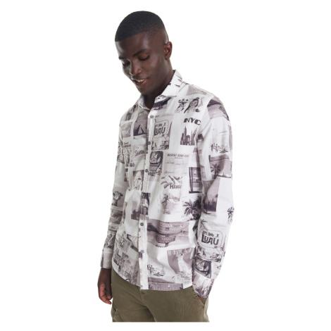 Desigual pánská košile Cam Frederick