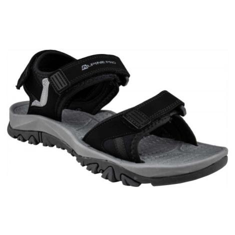 ALPINE PRO ALMAN černá - Pánské sandály