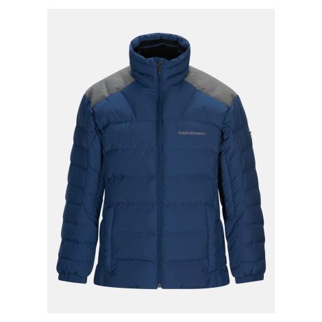 Bunda Peak Performance Velaedownj Outerwear - Modrá