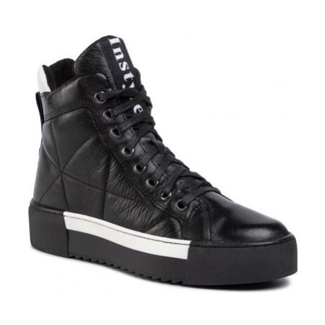Šněrovací obuv Lasocki ARC-MATTS-03 Přírodní kůže (useň) - Lícová