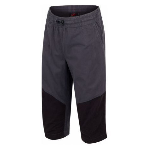 HANNAH Ruffy JR Dětské 3/4 kalhoty 118HH0126LC04 Dark shadow/anthracite