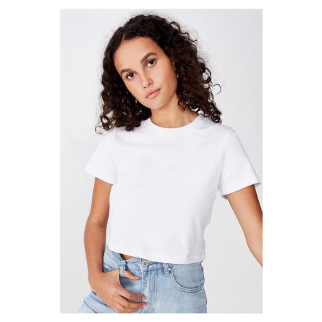 Dámské basic triko s krátkým rukávem Baby bílá Cotton On