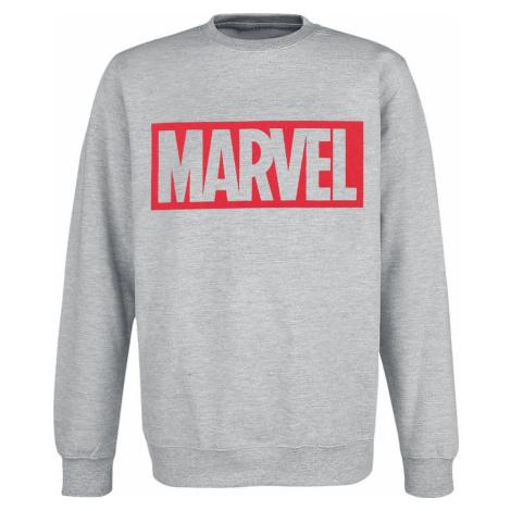 Marvel Logo Mikina prošedivelá