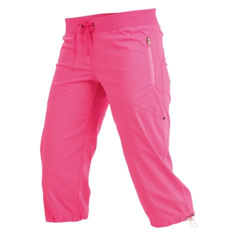 LITEX Kalhoty dámské v 3/4 délce bokové. 99583311 reflexně růžová