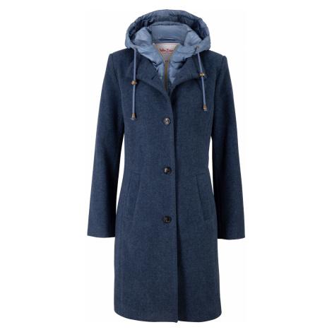 Zimní kabát s podílem vlny, vzhled 2 v 1 Bonprix