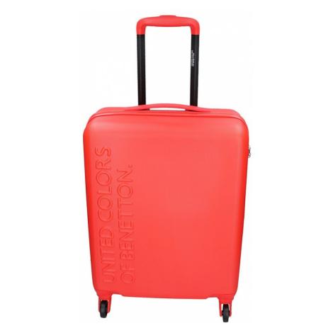 Kabinový cestovní kufr United Colors of Benetton Aura S - červená 34l