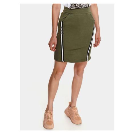 TOP SECRET zelená sukně