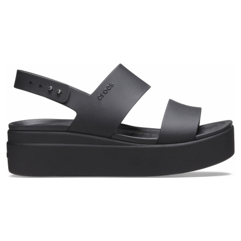 Crocs Crocs Brooklyn Low Wedge W Black/Black