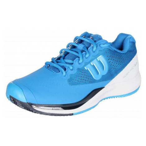 Rush Pro 3.0 Clay Court 2019 pánská tenisová obuv barva: modrá;velikost (obuv / ponožky): UK 9,5 Wilson