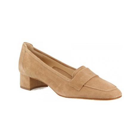 Leonardo Shoes 1324 CAMOSCIO BISCOTTO Béžová
