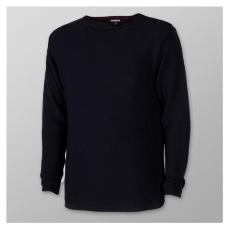 Pánský tenký svetr Willsoor 8232 ve tmavě modré barvě