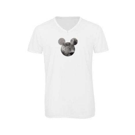 Pánské triko s výstřihem do V Mickey Mouse