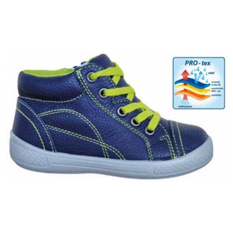 obuv dětská celoroční PRESTON, Protetika, modrá