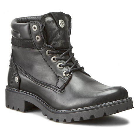 Turistická obuv WRANGLER - Creek Leather WL162501 Black 62