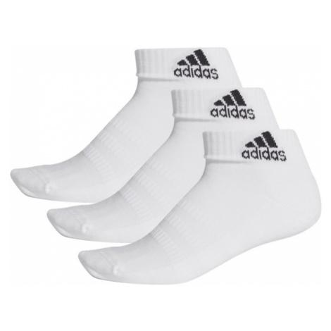 Ponožky Adidas Cushioned Ankle 3 páry - bílá