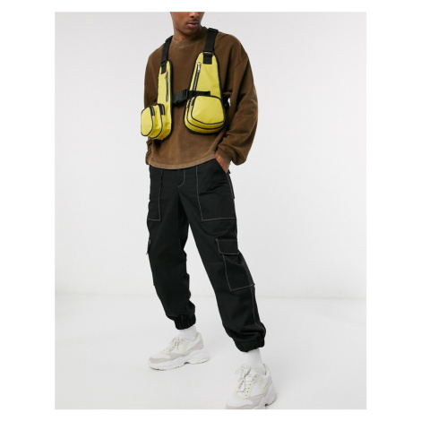 SVNX chest harness bag-Yellow