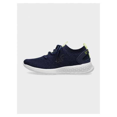 4F - Chlapecké sportovní boty - tmavě modrý