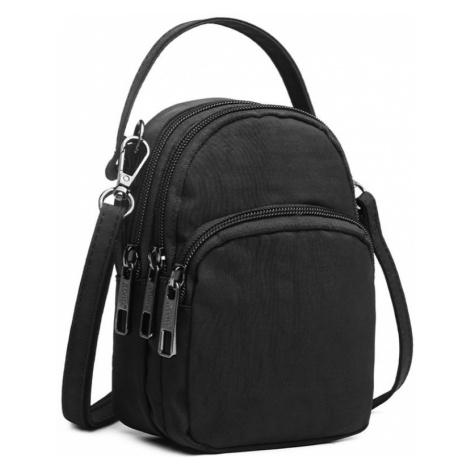 Černá menší praktická taška na cesty Justus Lulu Bags