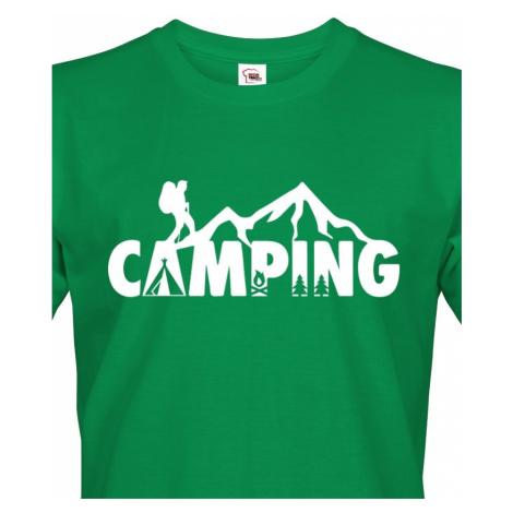 Pánské tričko Camping - ideální tričko na kempování BezvaTriko