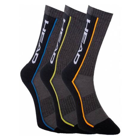 3PACK ponožky HEAD vícebarevné (791011001 002) M