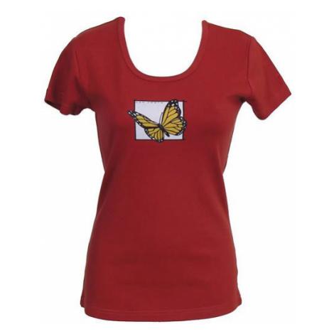 Dap Sport triko dámské Motýl, terakota