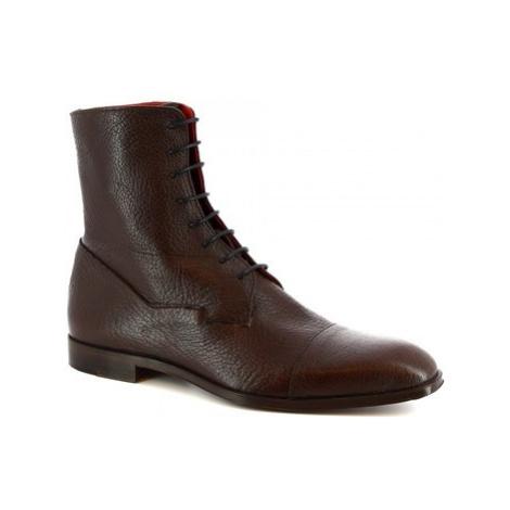 Leonardo Shoes 310 V. T. D. M Hnědá