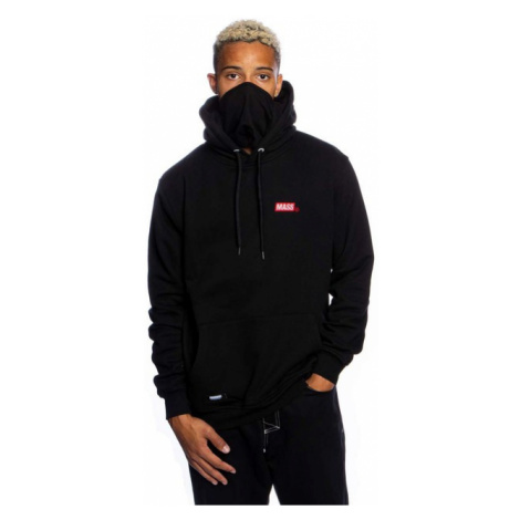 Mass Denim Sweatshirt Mini Box Hoody black