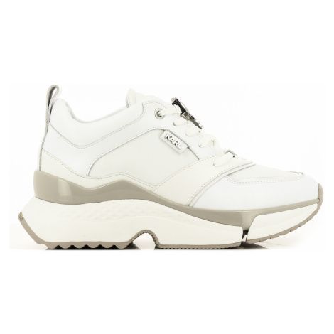 Tenisky Karl Lagerfeld Aventur Lux Lthr Lace Shoe - Bílá