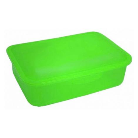 Karton P+P svačinový box- zelený 8-22419