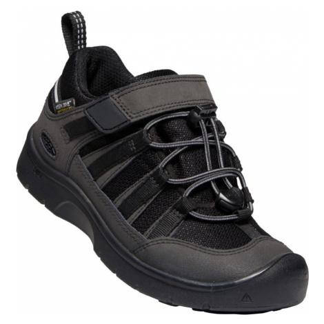 KEEN HIKEPORT 2 LOW WP C Dětská outdorová obuv 10008009KEN01 black/black