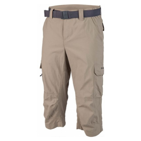Columbia SILVER RIDGE II CAPRI béžová - Pánské capri kalhoty