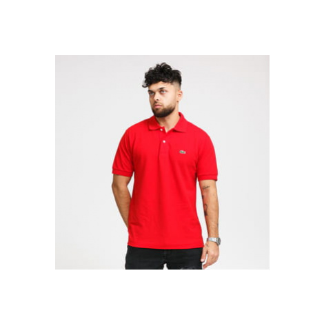 LACOSTE Men's Polo T-Shirt červené