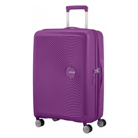 American Tourister Cestovní kufr Soundbox Spinner EXP 32G 71,5/81 l - tmavě fialová