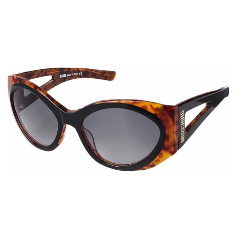 Moschino sluneční brýle černo želvovinové
