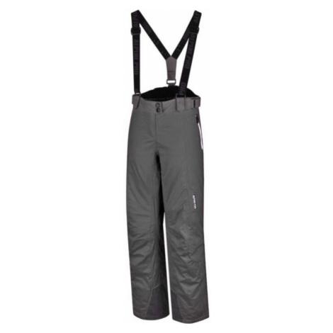 Dámské lyžařské kalhoty Alpine Pro VANIL NOIR PT - tmavě šedá