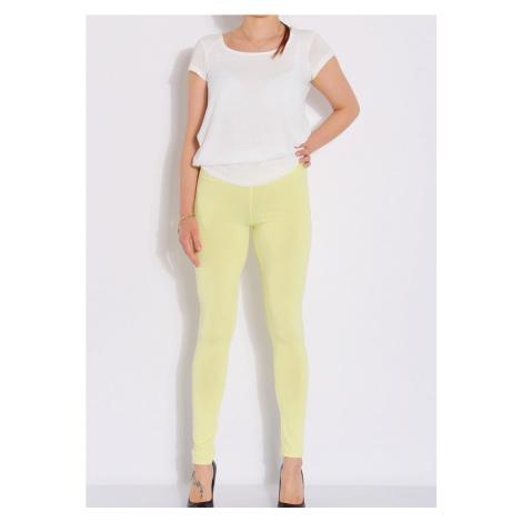Legíny Lumide Exclusive Wear barva žlutá
