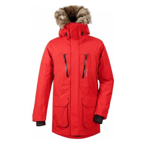 Pánský kabát Didriksons Marco červená Didriksons 1913