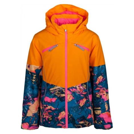 Spyder GIRLS CONQUER oranžová - Dívčí bunda