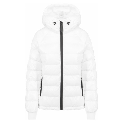 Bunda Peak Performance TOMIC PUFFER bílá