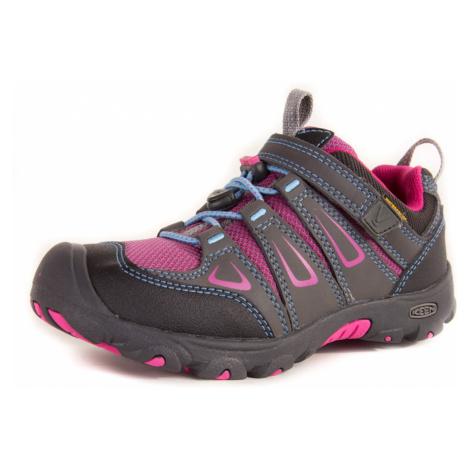 Dětské boty KEEN OAKRIDGE LOW WP K