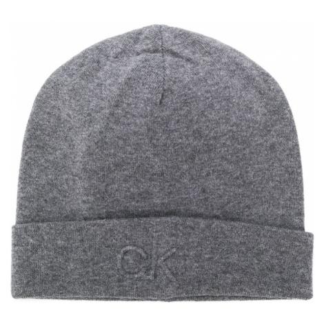 Calvin Klein pánská šedá čepice