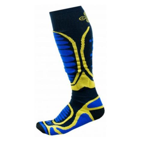 KILPI Unisex lyžařské ponožky - merino ANXO-U JU0126KIBLU Modrá