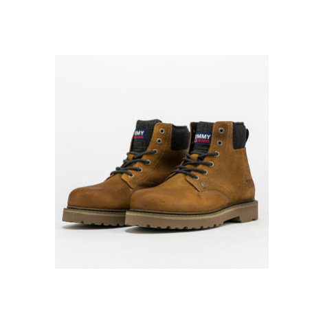 TOMMY JEANS Lace Up Mens Tommy Jeans Boot texas plains Tommy Hilfiger