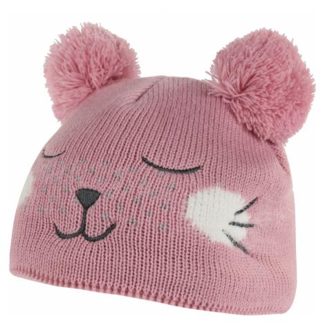Dětská zimní čepice Regatta ANIMALLY III růžová