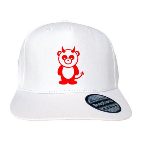 Kšiltovka Snapback Rapper Panda čertík