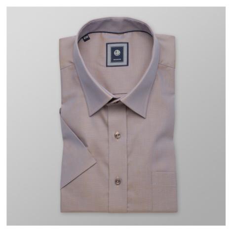 Košile London hnědá třpytivý efekt 10483 Willsoor